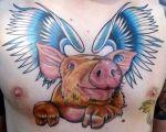 pig tattoos ideas