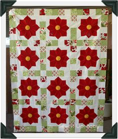 Sew It Up, Baby!: Poinsettia