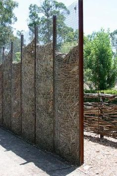 compost fence...also makes a nice privacy screen by sjulian1