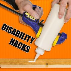 Woodworking Tips Woodworking Hacks for People with Disabilities like Arthritis! Essential Woodworking Tools, Antique Woodworking Tools, Learn Woodworking, Woodworking Workbench, Woodworking Supplies, Popular Woodworking, Woodworking Videos, Woodworking Crafts, Woodworking Furniture