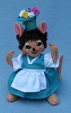 """Annalee Wizard Of Oz Munchkin Mayor Mouse 5/"""""""