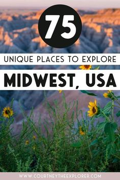 34 hikes, 11 cute small towns, 10 Midwest hidden treasures, and the best cities to visit this summer! A bucket list for Midwest travel - explore middle America (the best place on earth, yeah?)!! Illinois, Indiana, Kanas, Iowa, Michigan, Minnesota, Ohio, Missouri, Nebraska, North Dakota, South Dakota, and Wisconsin! 75+ places to see and things to do this summer in the Midwest! #midwesttravel #usatravel #localtravel #travel #roadtrip Usa Travel, North Dakota, North America, Us Travel Destinations, Hidden Treasures, United States Travel, Wisconsin, Michigan, Small Towns