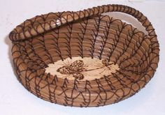 Twisted Handle Basket. $29,00, via Etsy.