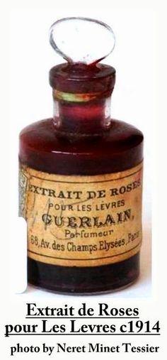 Extrait de Rose pour les lèvres de Guerlain