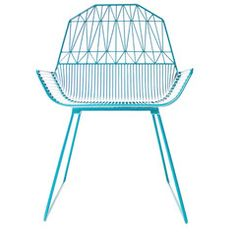 Bend Seating Farmhouse Lounge Chair - Peacock Blue