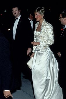 Princess Diana during 'Winter Garden' Opera - February 2, 1989 in New York City, New York, United States.