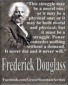 Frederick Douglass, we can learn much from the Abolitionist who blazed freedom's trail before us.  Abolish Human Abortion Now.