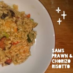 Prawn and Chrizo Risotto, Dairy Free, Gluten Free, Multiple Sclerosis, MS diet