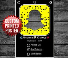 snapchat-poster INSTANT PARTY HIT!  DIY - Purchase a foam board or use cardboard. Size is 24″x36″. Cut out the center of the poster. Put a very small amount of glue, (glue stick works good) to the back of the poster. Attach the poster to foam board or cardboard. Let dry thoroughly. Using a straight edge and a craft knife or utility knife CAREFULLY cut out the center of the board.