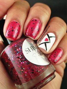 I love the envelope nail idea! So cute.