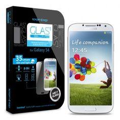 Protector Pantalla Galaxy S4 Spigen SGP Cristal Templado Oleophobic Glas T SLIM