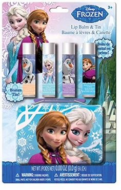 Frozen Lip Balm with Collectible Tin Fruit PunchRaspberry 5 Count >>> You can find more details by visiting the image link.
