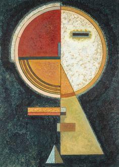 — Unfester Ausgleich (1930) - Wassily Kandinsky
