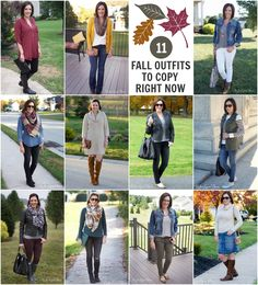 11 Outfits to Recreate This Fall