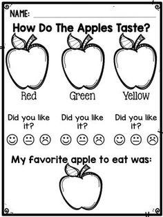 Preschool Apple Theme, Fall Preschool, Kindergarten Science, Preschool Lessons, Preschool Learning, Kindergarten Classroom, Preschool Activities, Preschool Apples, Kindergarten Apple Theme