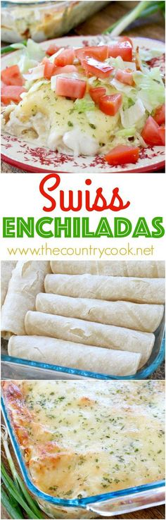 Swiss Enchiladas recipe from The Country Cook