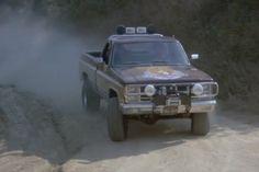 fall guy pick up 4x4 Trucks, Lifted Trucks, Chevy Trucks, Fall Guy Truck, Gmc Suv, The Fall Guy, Chevy 4x4, Truck Art, Classic Trucks