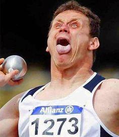 2층아저씨네 블로그: 운동 선수들의 웃긴 표정들 순간 포착