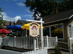 Mr. Gene's Beans in downtown Fairhope, a favorite among the locals and worth a drive across the bay