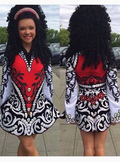 **Elevation Design**Irish Dance Solo Dress Costume**