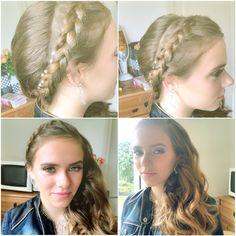 Braided hair #braided #hair #myword #prom