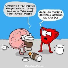 Heart and Brain - Awkward Yeti comics
