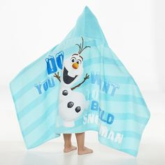 Disney Frozen Olaf Beach Bath Wrap Hooded Towel x in Blue New Disney Frozen Olaf, Olaf Halloween, Toddler Themes, Beach Bath, Baby Furniture, Bedroom Themes, Baby Gear, New Baby Products, Infant