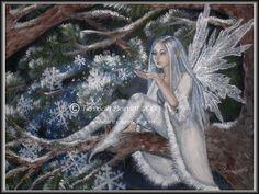 Snowflake Fairy by Terrauh.deviantart.com