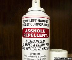 LAdies you gotta check this out..!! Asshole repellent..!! #life_hack #crazy_stuff