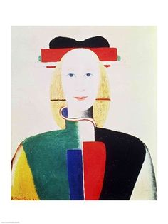 $24.99 The Girl with the Hat Poster Print by Kazimir Malevich - Fine Art Reproduction @postersprint #Postersprint #FineArt #WallArt  #Walldecor #wallPosters #Prints #Printing #oilpainting #ArtByRoom #ArtByEra