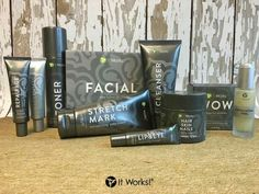 It Works skin care line, real results and really affordable!! www.tracykraft.itworks.com
