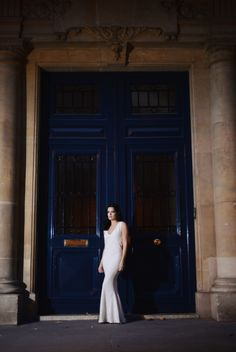 Editorial fotografado em Paris por Renato Milani - Vestido Dior
