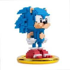 Kidrobot has teamed up with SEGA Sonic the Hedgehog for a collection of Sonic the Hedgehog toys, art figures and collectibles just in time for the Anniversary of Sonic the Hedgehog. Shop our collection of Sonic the Hedgehog art figures and . Sonic The Hedgehog, Hedgehog Movie, Hedgehog Art, Sonic 25th Anniversary, Vinyl Figures, Action Figures, Lego Super Mario, Lego Creative, Minecraft Room