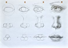 Eye Drawing Tutorials, Sketches Tutorial, Drawing Techniques, Portrait Sketches, Art Drawings Sketches Simple, Realistic Drawings, Eye Drawings, Lips Sketch, Eye Sketch