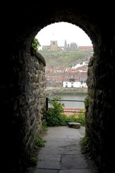 Free stock photo of View across the River Esk of St Marys Church and Whitby Abbey ruins framed by an Yorkshire England, North Yorkshire, Whitby England, Yorkshire Dales, Great Places, Places To See, Beautiful World, Beautiful Places, Visit York