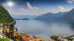 The view from Argegno, Lake Como, Italy.