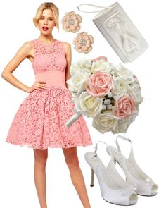 Fearless Brides Fashion Blogger Challenge: Spring-inspired bridesmaid outfit by The Edge of Beauty