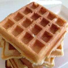 Recipe Waffle Mixture by arwen.thermomix - Recipe of category Basics Double mixture next time Wrap Recipes, Sweet Recipes, Whole Food Recipes, Cooking Recipes, Thermomix Desserts, Thermomix Pancakes, Waffle Iron Recipes, Sweet Pastries, Recipes