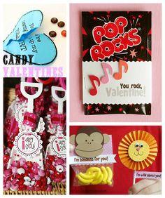 Candy Valentines Ideas via @Kelly Teske Goldsworthy {Eclectic Momsense} - eclecticmomsense.com