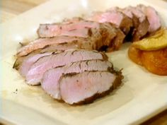 Marinated Grilled Pork Tenderloin recipe from Sara's Secrets via Food Network