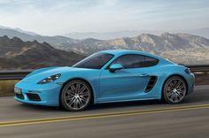 Platz 6: Porsche Cayman
