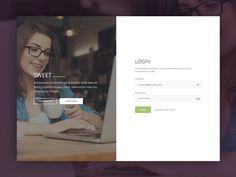 A simple login page for a Moodle theme, still in progress xD Login Page Design, Web Design, Form Design, Log In Ui, Login Form, Sign Up Page, Christian Artwork, Application Design, Ui Web