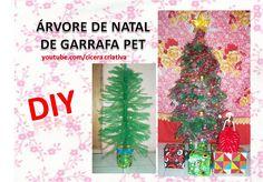 Você que reclama que árvore de natal é muito cara e só rico pode comprar. Pois te digo que não, com algumas garrafas pet, uns poucos enfeites, e muita criatividade, você pode fazer uma linda árvore de natal.  Eu mostro como fazer nesse video----> https://www.youtube.com/watch?v=W0c78Tp9zYM .