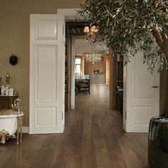 #Bolefloor #roble | #Tarima de #madera con #curvas · Pavimentos #Arquiservi
