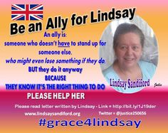 BE AN ALLY FOR LINDSAY -  Hopes for mercy for British grandmother on death row in Bali fade http://deathpenaltynews.blogspot.com/2015/09/hopes-for-mercy-for-british-grandmother.html …