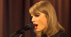 Watch Taylor Swift perform the gorgeous acoustic version of her smash single 'Blank Space'
