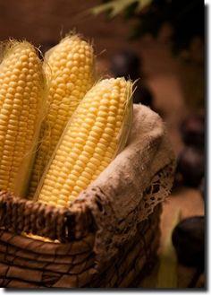 whisperofvintage Fresh Shucked Corn