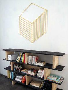 Project Idea: DIY Geometric Wall Decor Oh Oh Blog