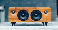 The Min7 speaker is portable, handmade, and packs 150 watts of power. It has also already blown by its Kickstarter funding goal.