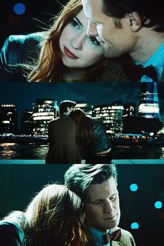 The Doctor: One day—soon maybe—you'll stop. I've known for awhile. Amy: Then why do you keep coming back for us? The Doctor: Because you were the first. The first face this face saw. And you were seared onto my hearts, Amelia Pond. You always will be. I'm running to you, and Rory, before you fade from me. Amy: Don't be nice to me. I don't want you to be nice to me. The Doctor: Yeah you do, Pond. And you always get what you want